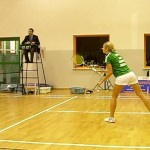 Anna Narel, zawodniczka LUKS Badminton Choroszcz, foto: Izolda Hukałowicz