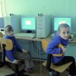Uczniowie ze SP w Złotorii na lekcji informatyki, foto: SP w Złotorii