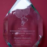 Nagroda dla Magdy Dakowicz, foto: Magda Dakowicz