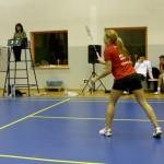 Anna Narel (LUKS Badminton), foto: Izolda Hukałowicz