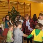 Zabawa choinkowa w Kruszewie, foto: SP w Kruszewie