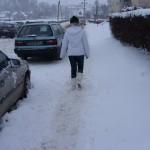 Choroszcz pod śniegiem, foto: Izolda Hukałowicz