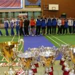 Młodzi badmintoniści walczą o puchary, fot: Izolda Hukałowicz