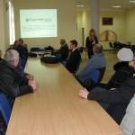 Przedstawicielka CEDI przekonywała do idei budowy MEW, foto: Izolda Hukałowicz