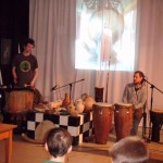 Muzycy z Pracowni Lipowej dla dzieci, foto: Izolda Hukałowicz
