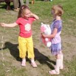 Święto dzieci w Choroszczy, foto: Izolda Hukałowicz