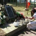 Znicze zapłonęły na Szubienicy, fot. Izolda Hukałowicz