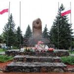 Pomnik na Placu Brodowicza w Choroszczy, fot. P. Waczyński