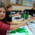 Zajęcia plastyczne w M-GCK, fot. Monika Tekielska