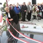 Uroczystości na cmentarzu, fot. Szymon Paczyński