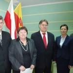 Władze Rady Powiatu Białostockiego, fot. Marian Olechnowicz