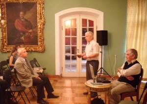 Jerzy Ułanowicz, Józef Waczyński, prof. dr hab. Adam Czesław Dobroński fot. M. Ogrodnik