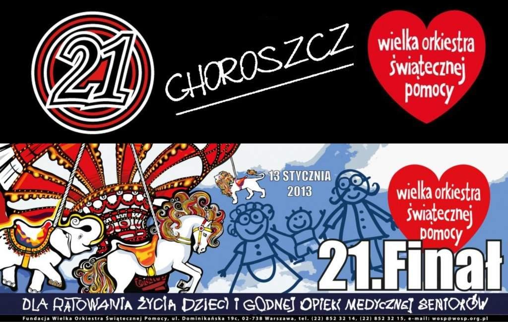 Finał WOŚP Choroszcz 2013