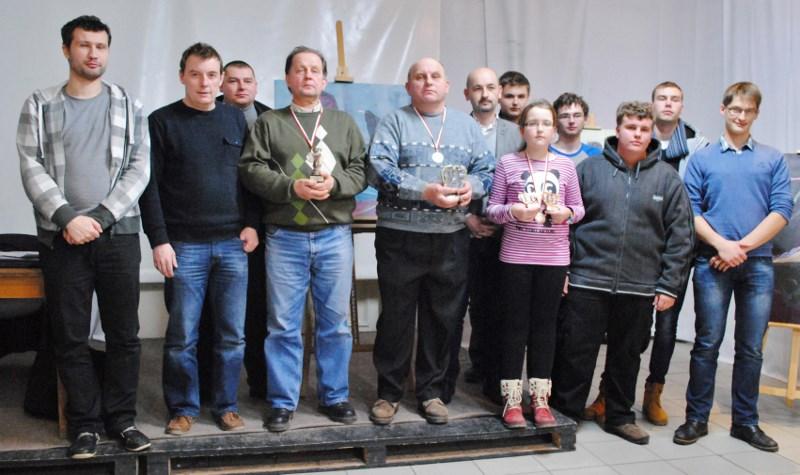 Mistrzostwa Gminy Choroszcz w Szachach 02.02.2014