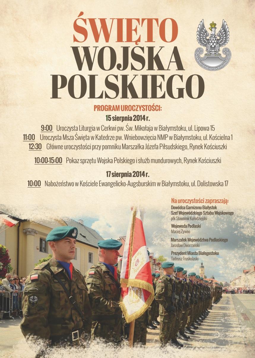 Białystok Święto Wojska Polskiego 2015