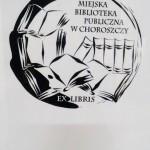 ekslibiris Choroszcz Biblioteka Publiczna