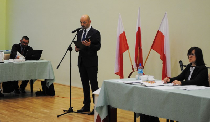 Robert Wardziński burmistrz Choroszczy