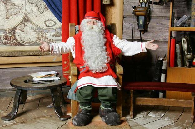 Mikołaj Święty z Finlandii