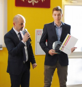 Piotr Wasiluk nagroda burmistrza