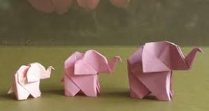 origami slonik(1)