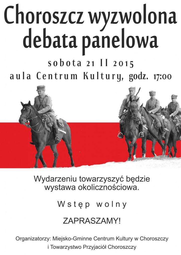 plakat A3 Choroszcz wyzwolona