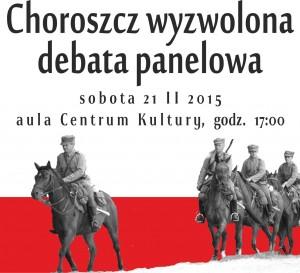 plakat Choroszcz wyzwolona