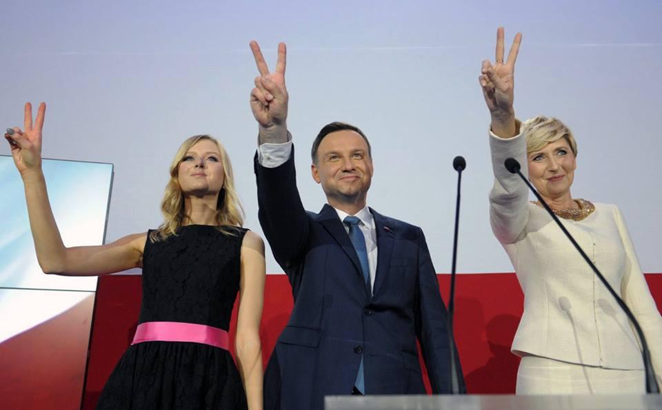 Andrzej Duda zdjęcie z profilu FB